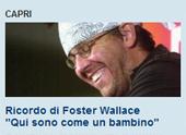 RICORDO DI DAVID FOSTER WALLACE