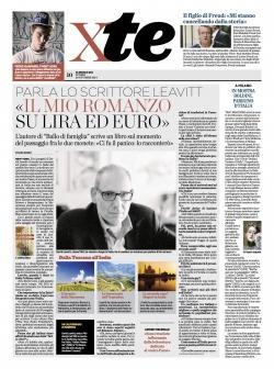 """DAVID LEAVITT: """"IL MIO ROMANZO SU LIRA E EURO"""""""