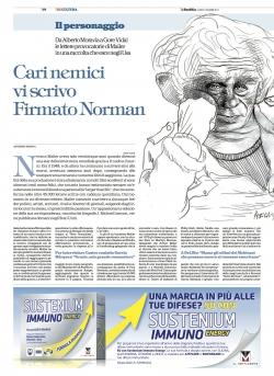 CARI NEMICI, VI SCRIVO. FIRMATO NORMAN