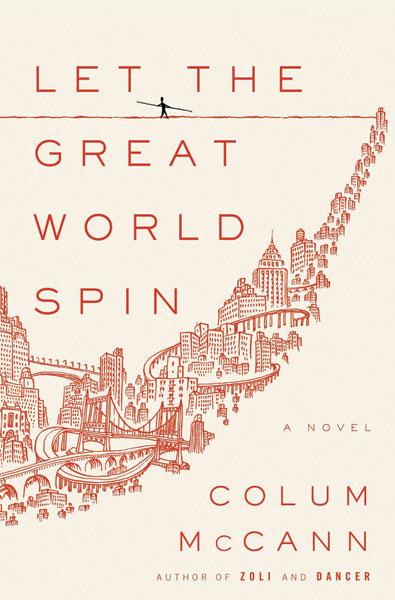 COLUM MCCANN WINS NATIONAL BOOK AWARD