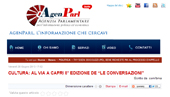 """Cultura: al via a Capri l'8° edizione de """"Le Conversazioni"""""""