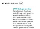 Capri, dialoghi con vista