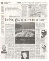 Festival, gli scrittori vanno in scena