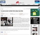 'Le conversazioni' da New York a Capri con la Rai