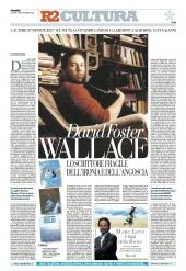 DAVID FOSTER WALLACE: LO SCRITTORE FRAGILE DELL'IRONIA E DELL'ANGOSCIA