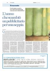pubblicita' Le Conversazioni 2015
