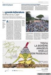 La grande letteratura si affaccia su Capri
