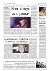AVATI RACCONTA: «UNA STORIA D'AMORE TRA DUE 15/ENNI»
