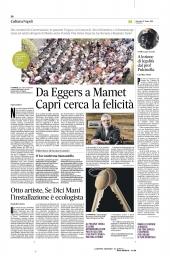 Da Eggers a Mamet, Capri cerca la felicita'