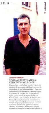 Cinema e letteratura s'incontrano a Capri