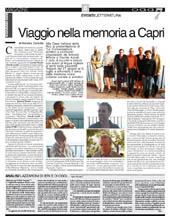 Viaggio nella memoria a Capri