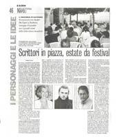 Scrittori in piazza, estate da festival