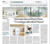 Nel tempio laico di Renzo Piano