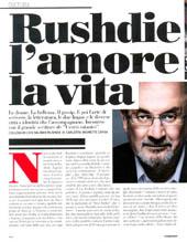 Rushdie l'amore, la vita