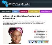 A Capri gli scrittori si confrontano sui diritti umani