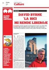 David Byrne: La bici mi rende felice