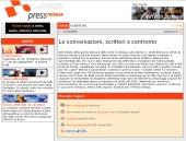 Le Conversazioni, scrittori a confronto