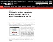 Veltroni a tutto campo da Keith Jarrett a Fantozzi. Pensando al futuro del Pd