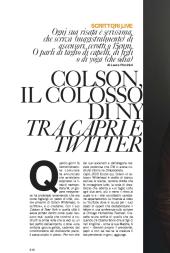 Colson, il colosso di NY tra Capri e Twitter