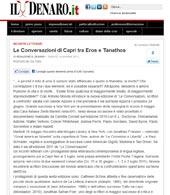 Le Conversazioni di Capri tra Eros e Tanathos