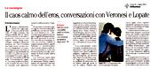 Il caos calmo dell'eros, conversazioni con Veronesi e Lopate