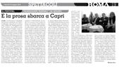 E la prosa sbarca a Capri