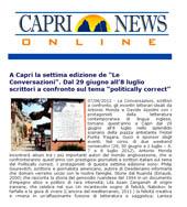 A Capri la settima edizione de Le Conversazioni