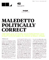 Maledetto Politically Correct