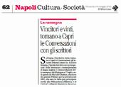 Vincitori e vinti, tornano a Capri le Conversazioni con gli scrittori